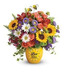 Flowers By Bauers Garden Of Wellness Bouquet