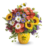 Flowers By Bauers Garden Of Wellness Bouquet
