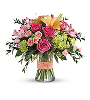 Flowers By Bauers Blush Life Bouquet DX