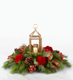 The FTD® I'll be Home for Christmas™ Centerpiece
