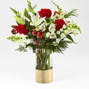 The FTD® Golden Holiday™ Bouquet
