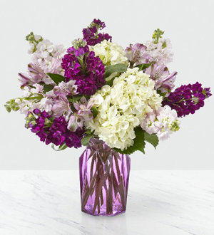 The FTD® Violet Delight™ Bouquet