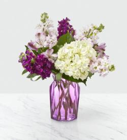 The FTD® Violet Delight™ Bouquet