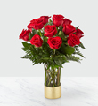 The FTD® Gorgeous Red Rose Bouquet