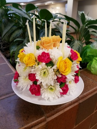 Appleblossoms Happy Birthday Cake Spencer MA 01562 FTD Florist