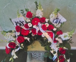 Cremation Urn Wreath
