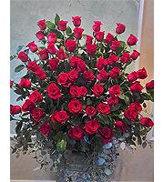 Large Rose Basket