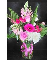 Pink Polka Dot Bouquet