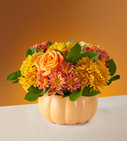 The FTD® Pumpkin Spice Forever Bouquet