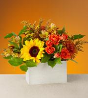 The FTD® Golden Hour Bouquet