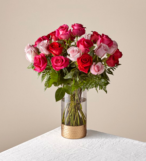 The FTD® Rose Colored Love Bouquet