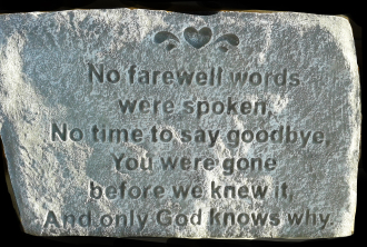 No Farewell Words