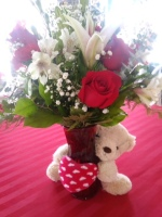 Bear Hug Bouquet