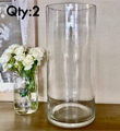 Crystal Clear Cylinder 16x7