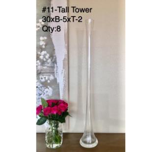 Tall Tower Vase 30xB-5XT-2