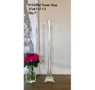 Eiffel Tower Vase 37xB-7xT-1.5