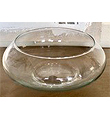 Low Floating Candle Flower Bowl 4.5HX11W