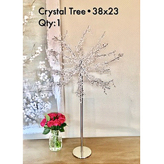 Stunning Crystal Beaded Tree 38hx23