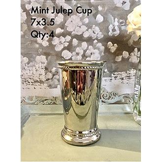 Classic Metal Mint Julep 7x3.5