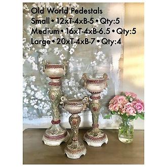 Old World Pedestal