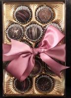 CODEN'S GOURMET CHOCOLATE TRUFFLES - 1 DOZEN