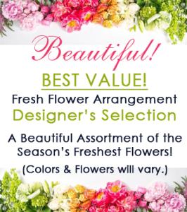 BEST VALUE! Premium Designer\'s Selection Bouquet
