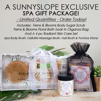 Sunnyslope's Radiant Skin Care Spa Gift Package