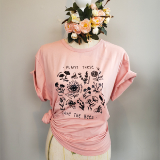 Ferns & Blooms - Save The Bees T's