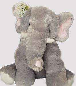 Send PLUSH ANIMAL ELEPHANT with local delivery today, Sunnyslope Floral
