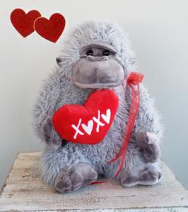 GRAYSON the Plush Gorilla