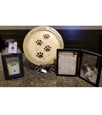 Pet cat memorial memorials for same day delivery, Sunnyslope Floral