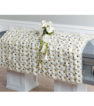 Send flower casket blankets and other sympathy gifts for same day delivery to funeral homes in Grand Rapids, Holland, Rockford and Zeeland with Sunnyslope Floral