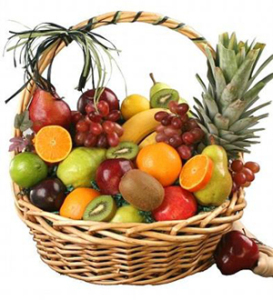 Seasonal fruit basket for delivery in Grand Rapids, Michigan and world wide with Sunnyslope Floral, your same day delivery specialists