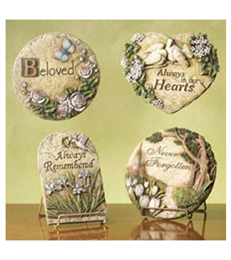 Find sympathy keepsake stones and other sympathy gifts for deivery in Grand Rapids, Byron Center, Holland, Rockford and Walker by Sunnyslope Floral