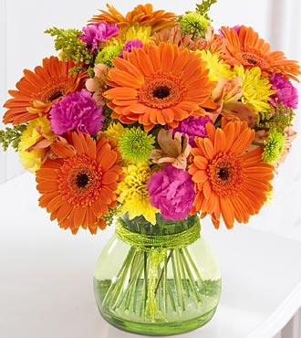 Send cheerful flower bouquet for delivery in Ada, Allendale, Byron Center, Comstock Park, Grand Rapids, Holland, Grandville, Jenison, Hudsonville, Rockford & Kentwood MI
