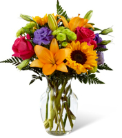 flowers to brighten the day in grand rapids metro area by Sunnyslope Floral florist