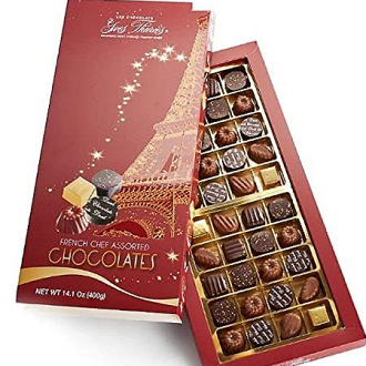 French Chef Chocolate Truffle Assortment Gift Box