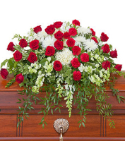 Forever Cherished    ----   Flowers For The Casket