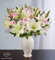 Loving Blooms Lenox Pink and White