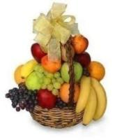 Fruit Basket by Renning's Flowers