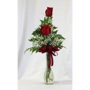 Double Rose Bud Vase