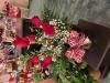 Half Dozen Roses, Vased