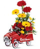 TF Fire Engine Bouquet