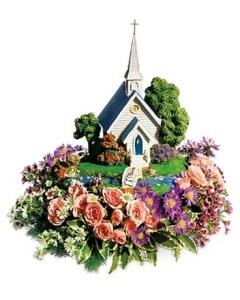 TF Thomas Kinkade\'s Chapel Bouquet