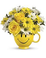 TF Be Happy Mug Arrangement