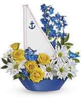 Ahoy, It's A Boy Bouquet