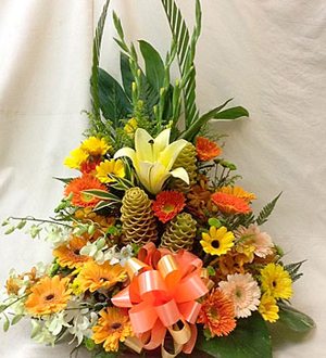 Arrangement in Yellow Tonings