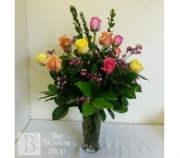 Mixed Dozen Roses