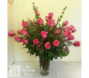 Three Dozen Pink Roses