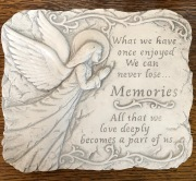 Memories Plaque